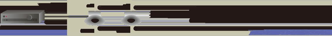 スピーカ2個並列接続