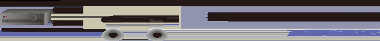 スピーカ2個直列接続