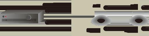 8Ωのスピーカを並列に2個接続した時の合成抵抗
